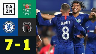 Eiskalte Blues schießen Viertligisten ab: FC Chelsea - Grimsby 7:1 | Carabao Cup