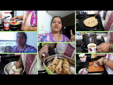 INDIAN MOM MORNING ROUTINE||KIDS LUNCH BOX RECIPES||RAMA SWEET HOME