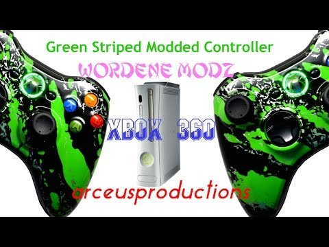 SICK 5,000+ MODE MODDED CONTROLLER XBOX 360(CoD gameplay)