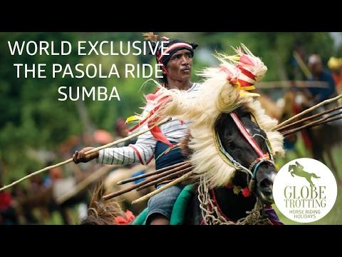 The Pasola ride, Sumba - courtesy of horse riding holiday specialists Globetrotting