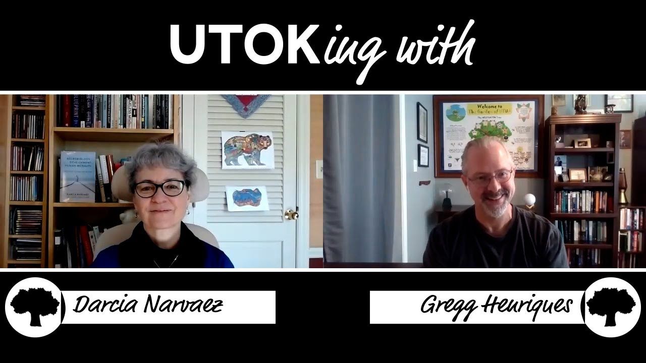Download Ep 32 | UTOKing with Darcia Narvaez | Morality starts in the Womb