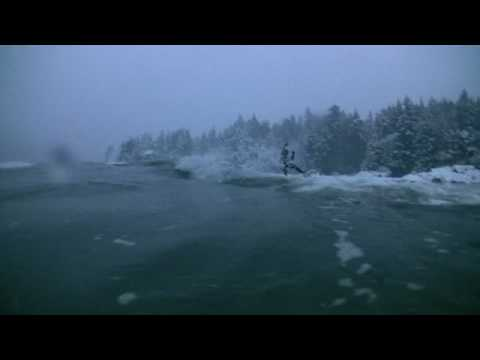 Surfing Canada In A Snow Storm