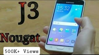How To Install Android 7.1.2 Nougat on Samsung Galaxy J3 Nougat Custom Rom - RR Rom | Hackerjarves