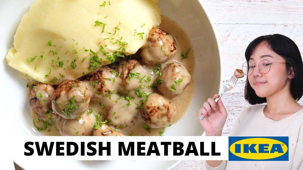 SWEDISH MEAT BALL ALA IKEA! | Luvita Ho