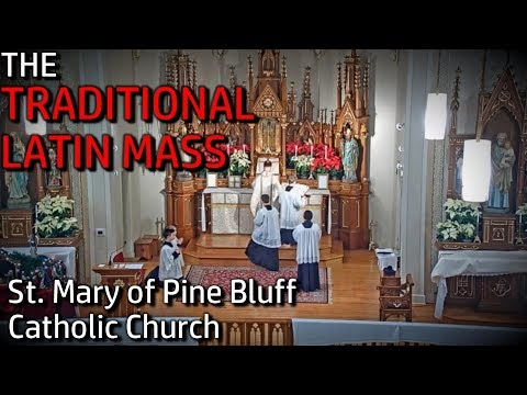 The Traditional Latin Mass @ St. Mary of Pine Bluff Church | Sun, Jul 5, 2020