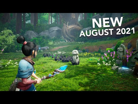 Top 10 NEW Games of August 2021