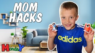Building Robots, Mommy Gets Sick & 5 MILLION PHOTOS! || Mommy Monday thumbnail