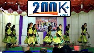 Tamil christian folk dance||மணவாளன் வரப்போறாரு song|by SMC GIRLS