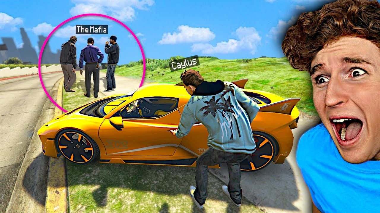 I STOLE My SUPERCAR Back From The MAFIA In GTA 5 RP..