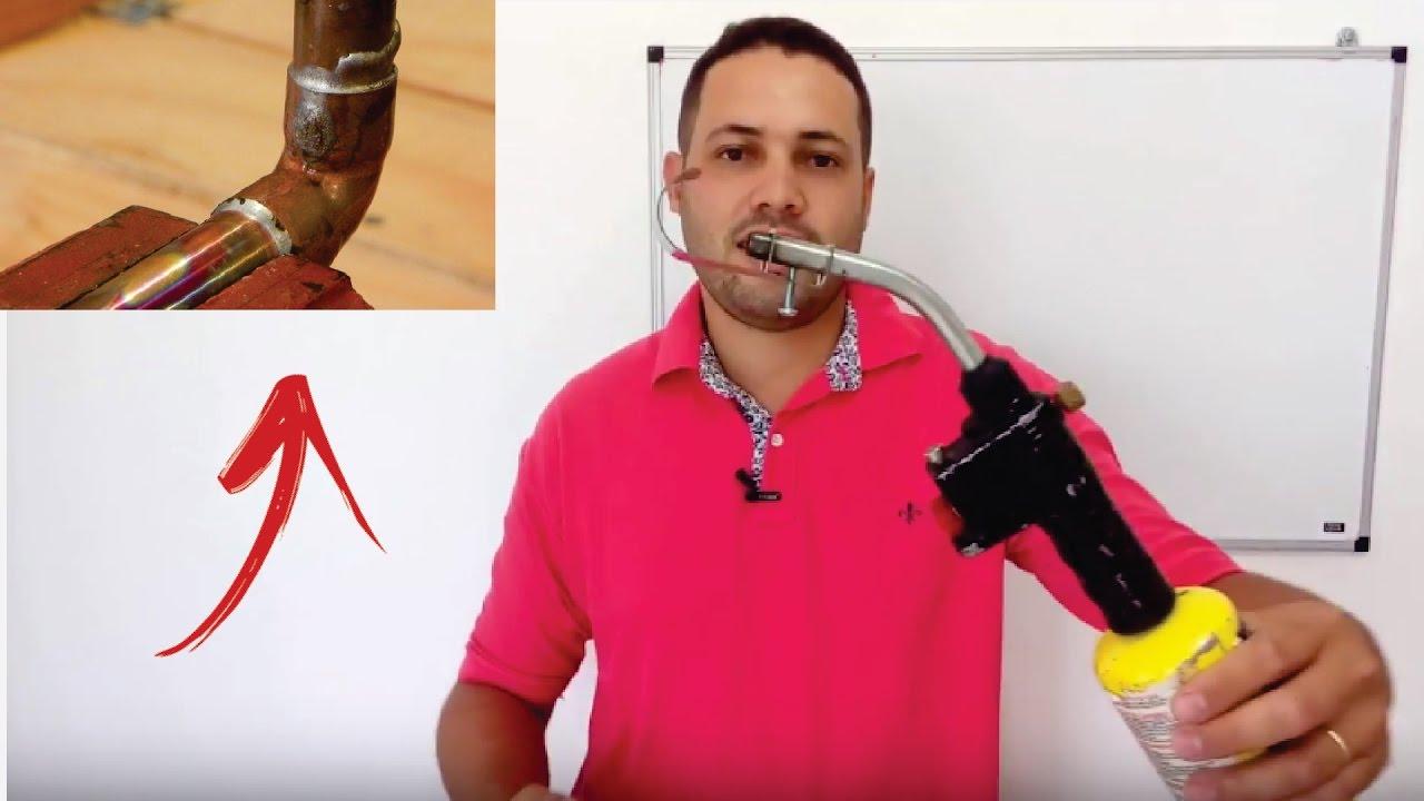 Como soldar tubos de cobre com ma arico portatil super for Como soldar cobre