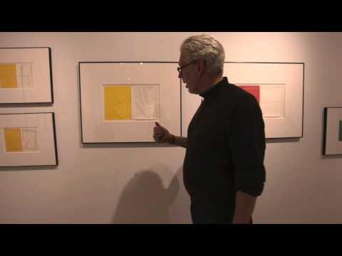 Lyle Rexer on Richard Caldicott at Sous Les Etoiles Gallery