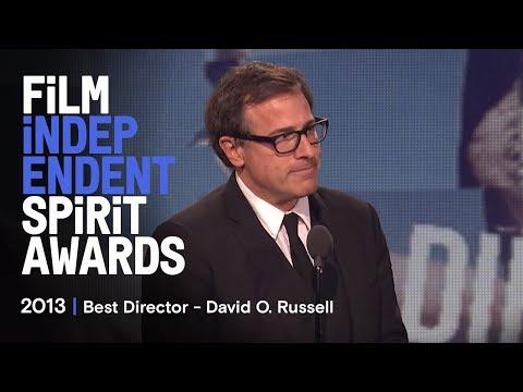 David O.Russell  Best Director Spirit Awards 2013
