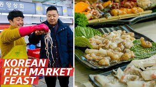 Why Jagalchi Market is One of the Best Places to Eat Seafood on Earth — K-Town