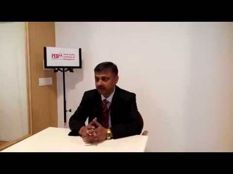 Mr. R.S. Chauhan , Country Manager, Delphi Automotive Systems at NDIM