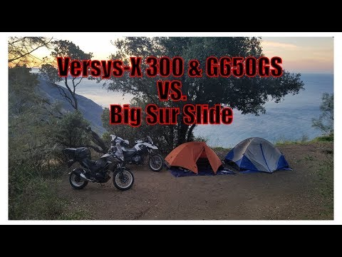 Versys-X 300 & G650GS VS. Big Sur Slide