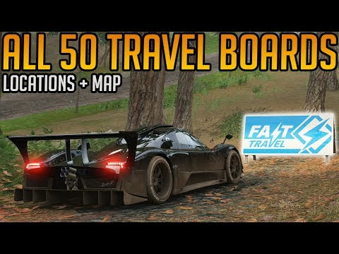 Forza Horizon 4: All 50 Travel Boards Locations Guide thumbnail