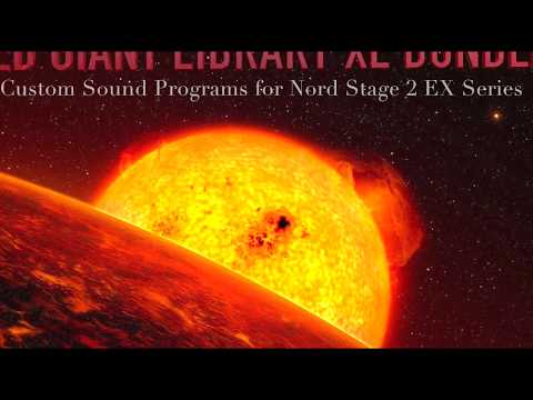 Red Giant Library - XL BUNDLE - Custom Sound Library for Nord Stage 2 and Nord Electro 5 series!