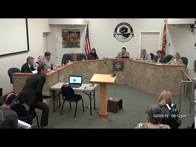 Cottonwood Council Regular Meeting February 5 2019