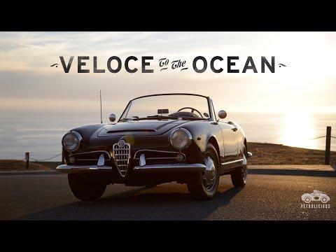 Alfa Romeo Giulia Spider Veloce Runs to the Ocean