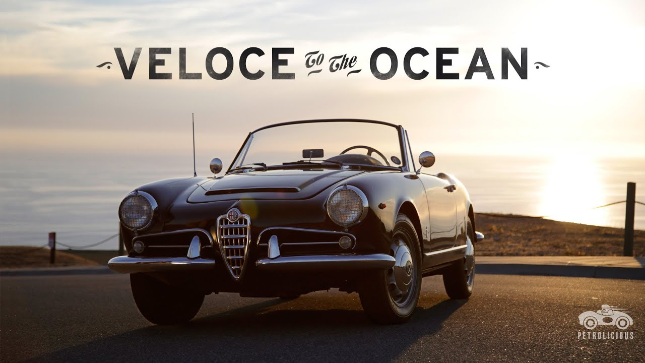 Sprint Car Wallpapers Free Alfa Romeo Giulia Spider Veloce Runs To The Ocean Youtube