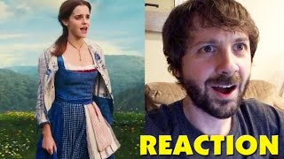 BEAUTY AND THE BEAST TV Spot 5 REACTION #GoldenGlobes #BeOurGuest