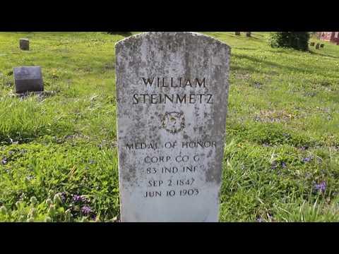 The Necro Tourist at the Wesleyan Cemetery in Cincinnati, Ohio (04-10-2017)