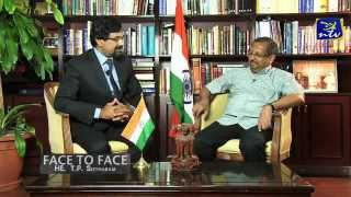 Face to Face with Indian Ambassador T P Seetharam Part 1