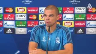 """Pepe: """"La final es una ocasión para seguir haciendo historia en este club"""""""