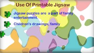 Facts On Printable Jigsaw Puzzles