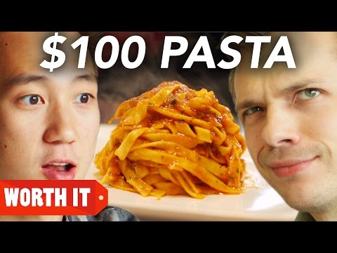 $8 Pasta Vs. $100 Pasta