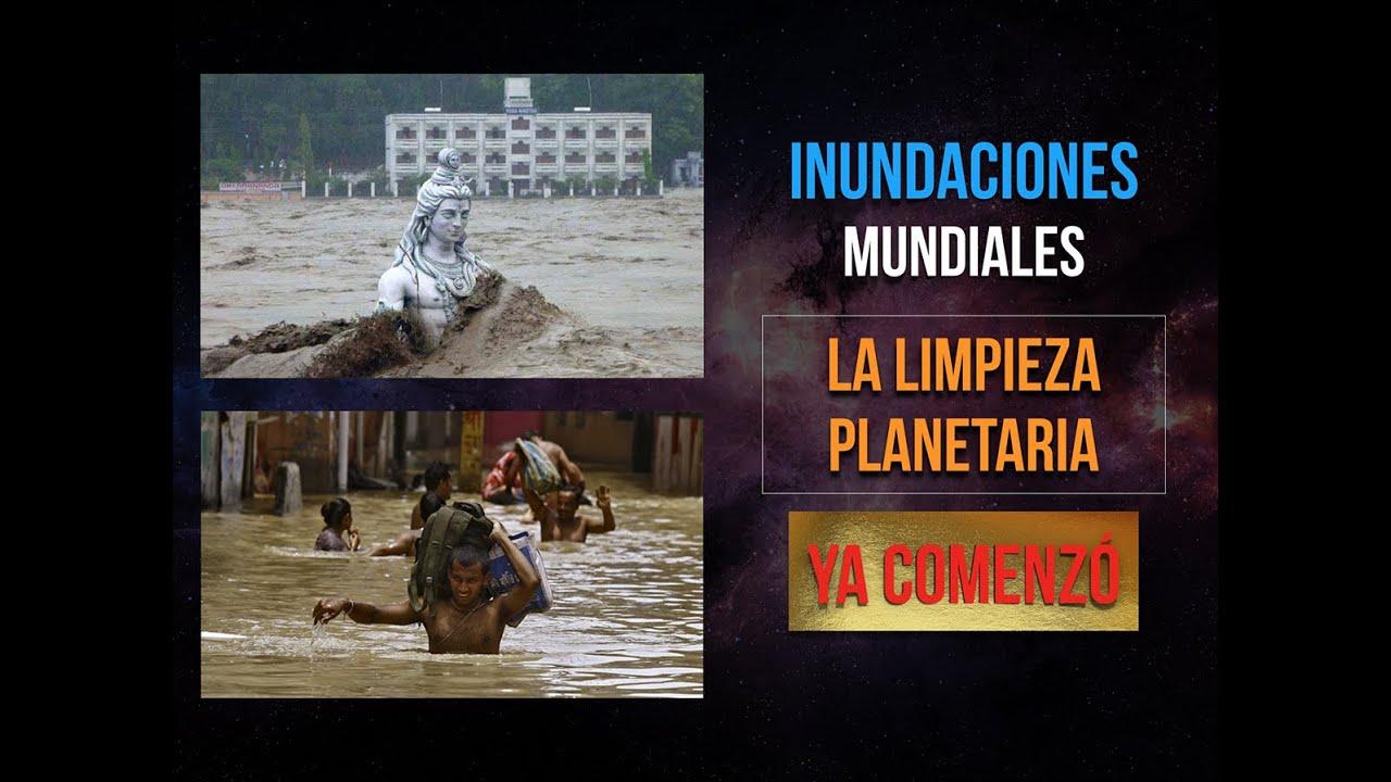 """INUNDACIONES MUNDIALES """"LA LIMPIEZA PLANETARIA"""""""