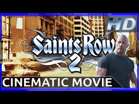 Saints Row 2 + DLC : Cinematic Movie - As Dwayne Johnson (HD
