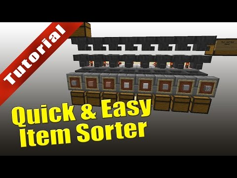 minecraft---tutorial:-quick-&-easy-item-sorter-(with-overflow-protection)