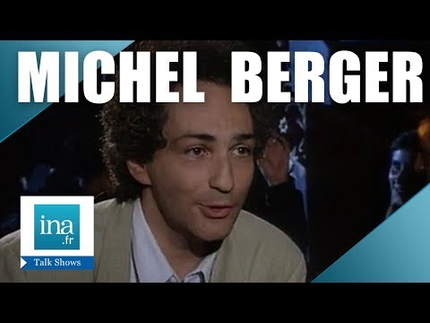 Michel Berger chez Thierry Ardisson  Archive INA