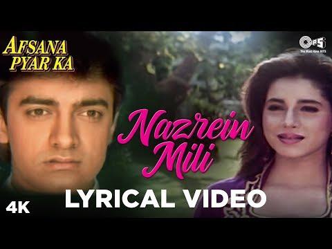 Nazrein Mili Lyrical - Afsana Pyar Ka | Asha Bhosle & Amit