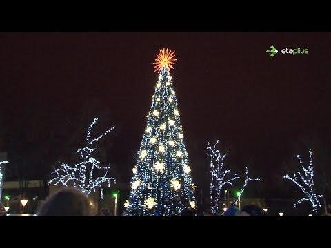 Šiaulių Kalėdų eglės įžiebimo šventė 20181201