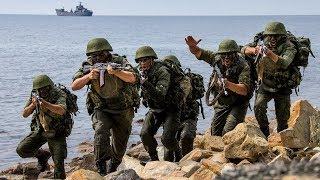 Вежливые люди в Крыму захватывают базу подводных лодок/ Спецназ в Балаклаве/ Фильм Крым 2017
