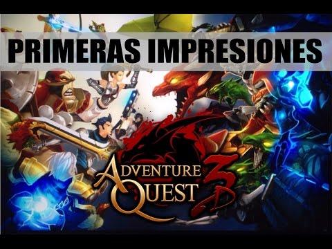 AdventureQuest 3D MMORPG | Primeras Impresiones | Gameplay en Español