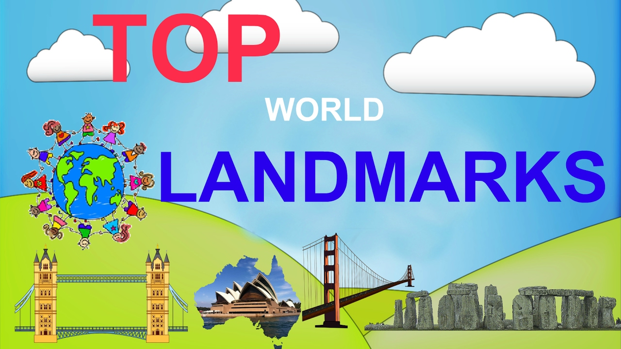 geography famous landmarks This is a fun and interesting unit study that combines geography with learning  about places of interest around the world these landmarks should be in.