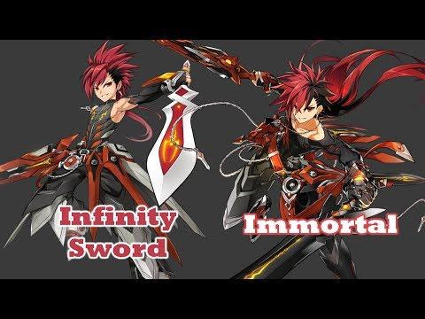 [ElswordKR] 3rd Jobs, What Changed? Infinity Sword - Immortal