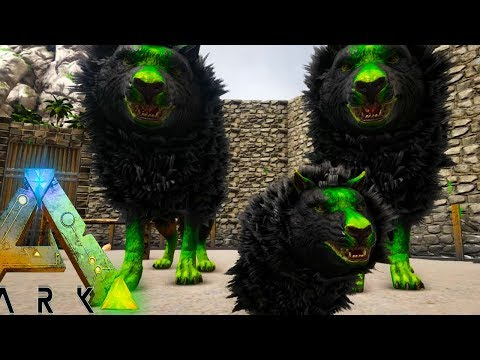 ARK: Annunaki - TAMING MOST EPIC WOLF PACK EVER!! TAMING + BREEDING - (16) Ark Survival Evolved