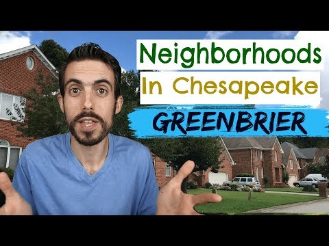 Best Neighborhoods In Chesapeake - Greenbrier