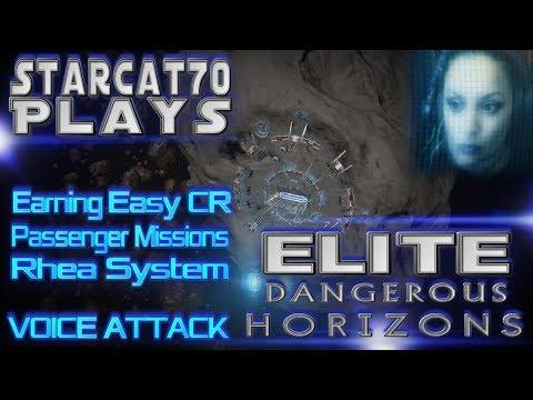 StarCat70 Plays | Elite Dangerous: Horizons | Adventures & Rhea Passenger Missions