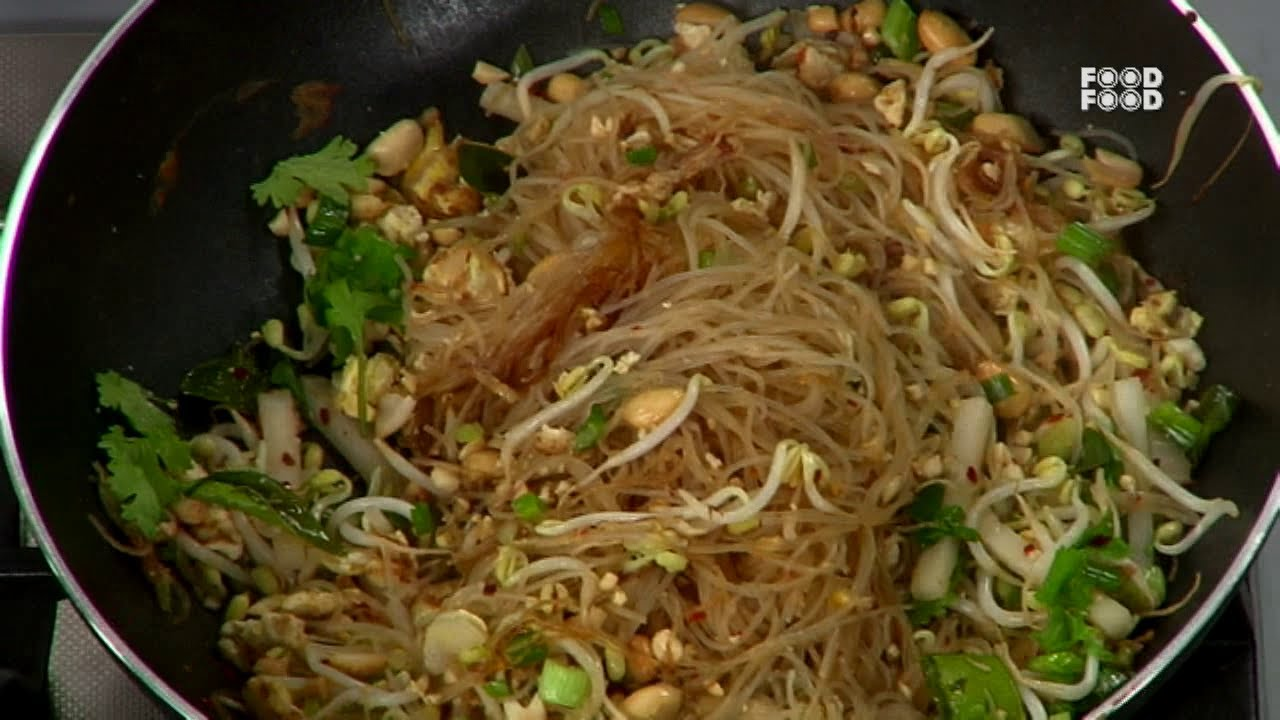 Thai fried noodles sanjeev kapoors kitchen youtube forumfinder