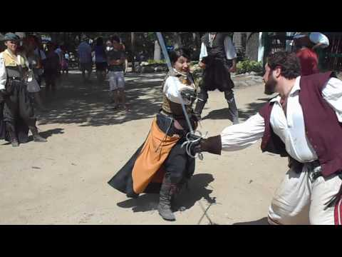 2016 Bristol Renaissance Faire - Romantic Sword Fight