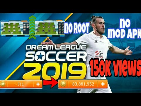 DREAM LEAGUE SOCCER 2019 MOD APK No Root (legendary Players Unlocked+Unlimited Coins) in Malayalam  #Smartphone #Android