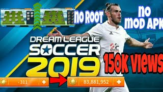 DREAM LEAGUE SOCCER 2019 MOD APK No Root (legendary Players Unlocked+Unlimited Coins) in Malayalam