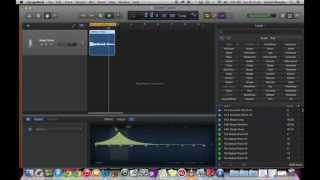 GarageBand Tutorial 4 - Recording and Editing a Vocal Part thumbnail