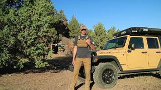 Jeep Camping Overland Style - Ghost Town Ruins in the High Desert