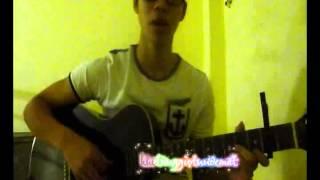 Dù anh không phải thiên thần - cover guitar by ĐôLy